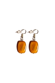 Love's Hangover Creations Mother-Of-Pearl Earrings - Front cropped