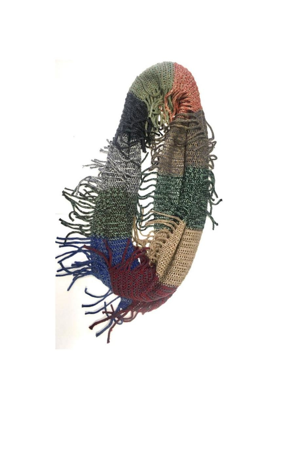 Love's Hangover Creations Multicolored Infinity Scarf - Main Image