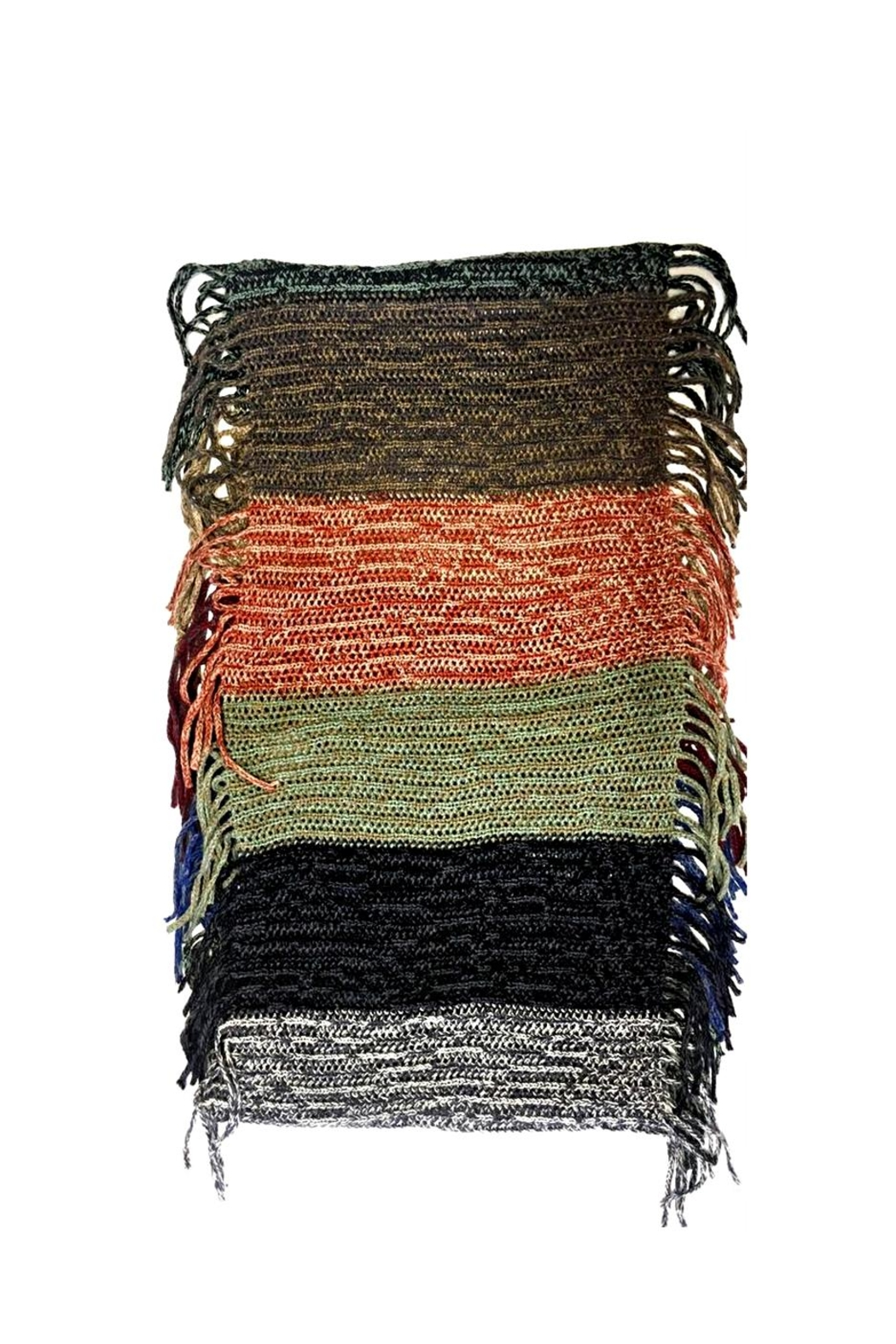 Love's Hangover Creations Multicolored Infinity Scarf - Side Cropped Image