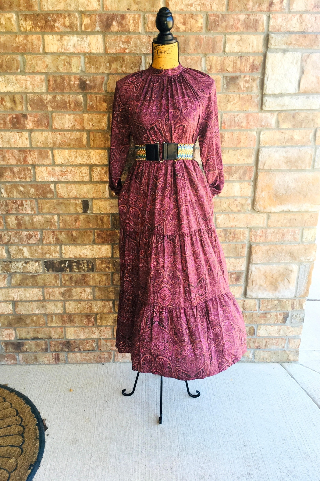 Love's Hangover Creations Patterned Smock Dress - Main Image