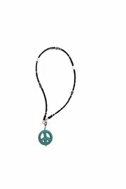 Love's Hangover Creations Peace Symbol Necklace - Product Mini Image