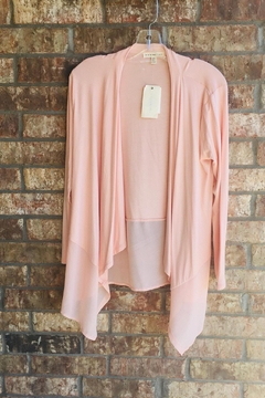 Shoptiques Product: Peach High-Low Duster
