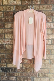 Love's Hangover Creations Peach High-Low Duster - Product Mini Image