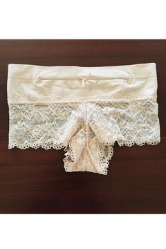 Love's Hangover Creations Peach Lace Undies - Alternate List Image