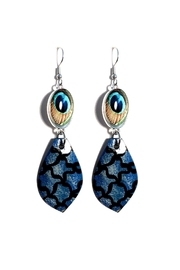Love's Hangover Creations Peacock Earrings - Front cropped