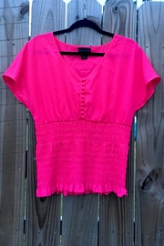 Love's Hangover Creations Pink Stylish Top - Front cropped