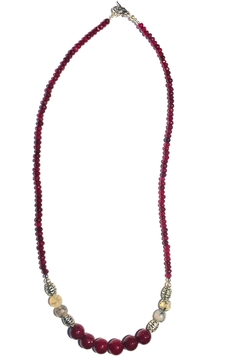 Shoptiques Product: Red Agate Necklace