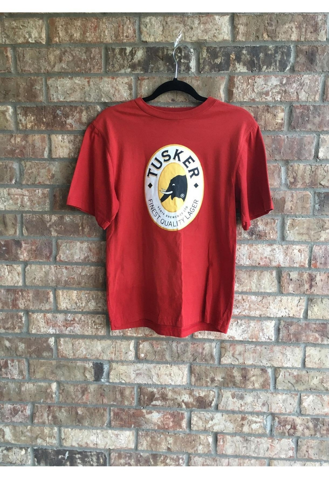 Love's Hangover Creations Red Tusker T-Shirt - Main Image