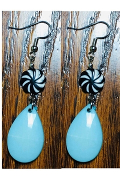 Love's Hangover Creations Safari Turquoise Earrings - Alternate List Image