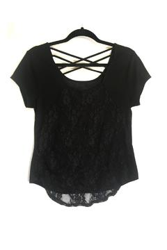 Shoptiques Product: Sheer Highlow Top