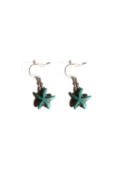 Love's Hangover Creations Starfish Earrings - Product Mini Image