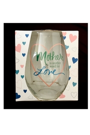 Love's Hangover Creations Stemless Wine Glass - Product Mini Image