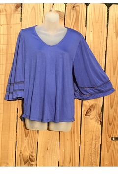 Love's Hangover Creations Stylish Blue Top - Alternate List Image