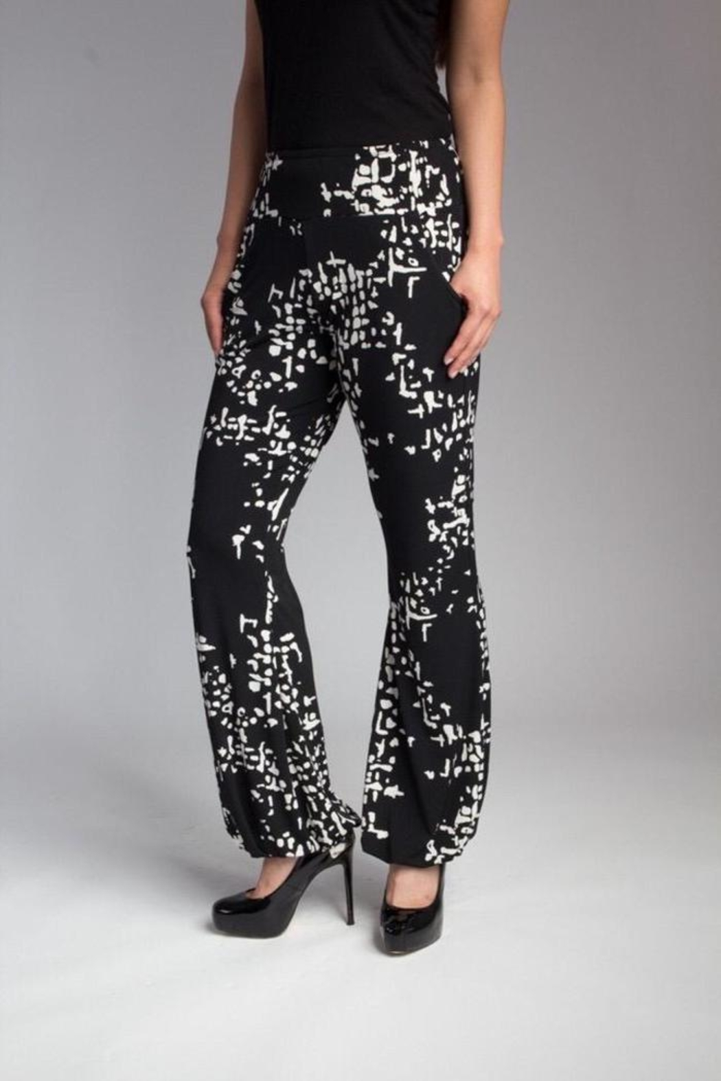 Love's Hangover Creations Trendy Yoga Pants - Front Full Image