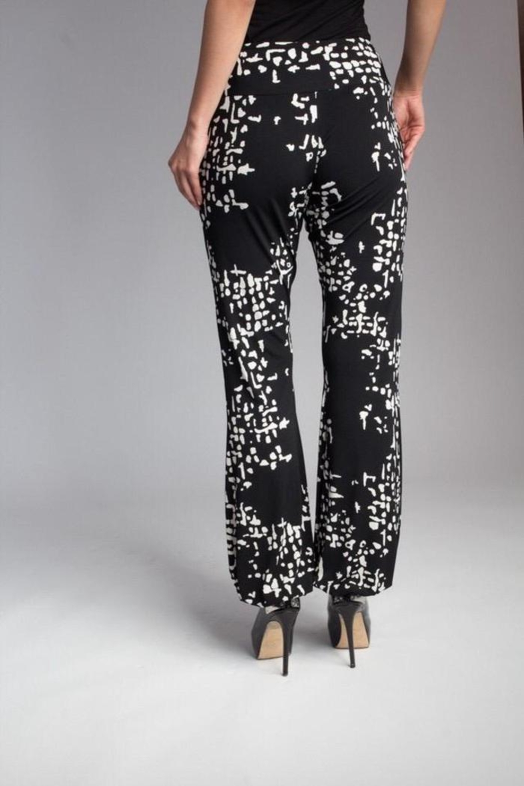 Love's Hangover Creations Trendy Yoga Pants - Front Cropped Image