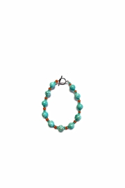 Love's Hangover Creations Turquoise Leila Bracelet - Front cropped