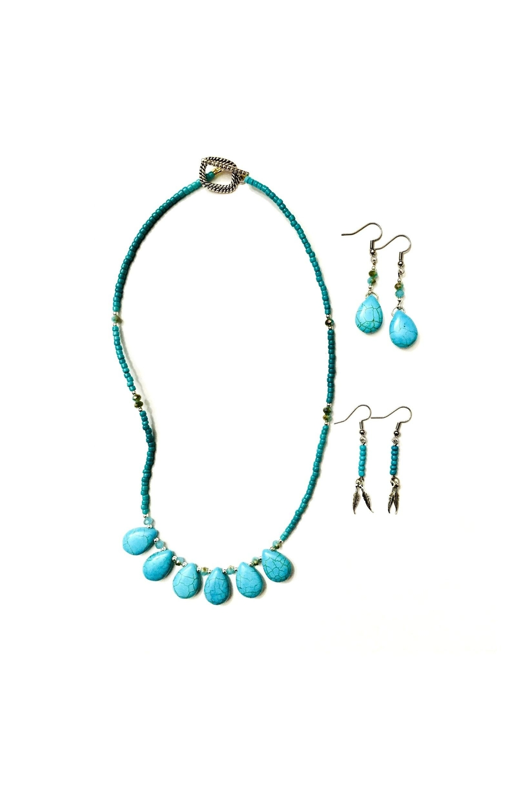 Love's Hangover Creations Turquoise Necklace Set - Main Image