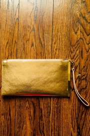 Love's Hangover Creations Vegan Leather Clutch - Front cropped