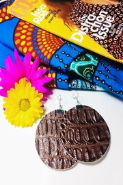 Love's Hangover Creations Vegan Leather Earrings - Product Mini Image