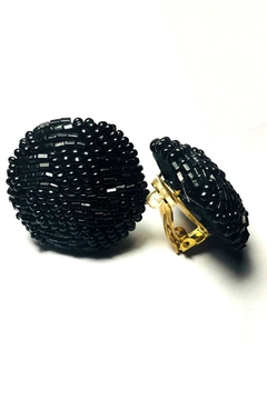 Shoptiques Product: Vintage Beaded Clip-Ons