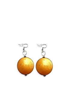 Shoptiques Product: Wooden Diva Earrings