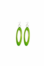 Love's Hangover Creations Wooden Isukuti Earrings - Product Mini Image