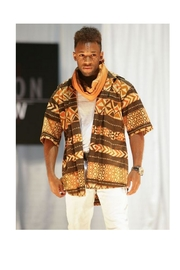 Love's Hangover Creations Woodin Dress Shirt - Front full body