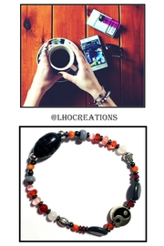 Love's Hangover Creations Yin-Yang Charm Bracelet - Front cropped