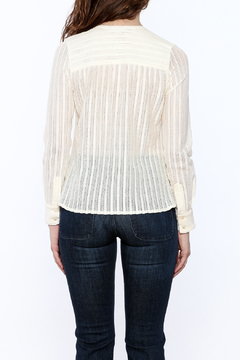 Shoptiques Product: Cream Pintuck Blouse
