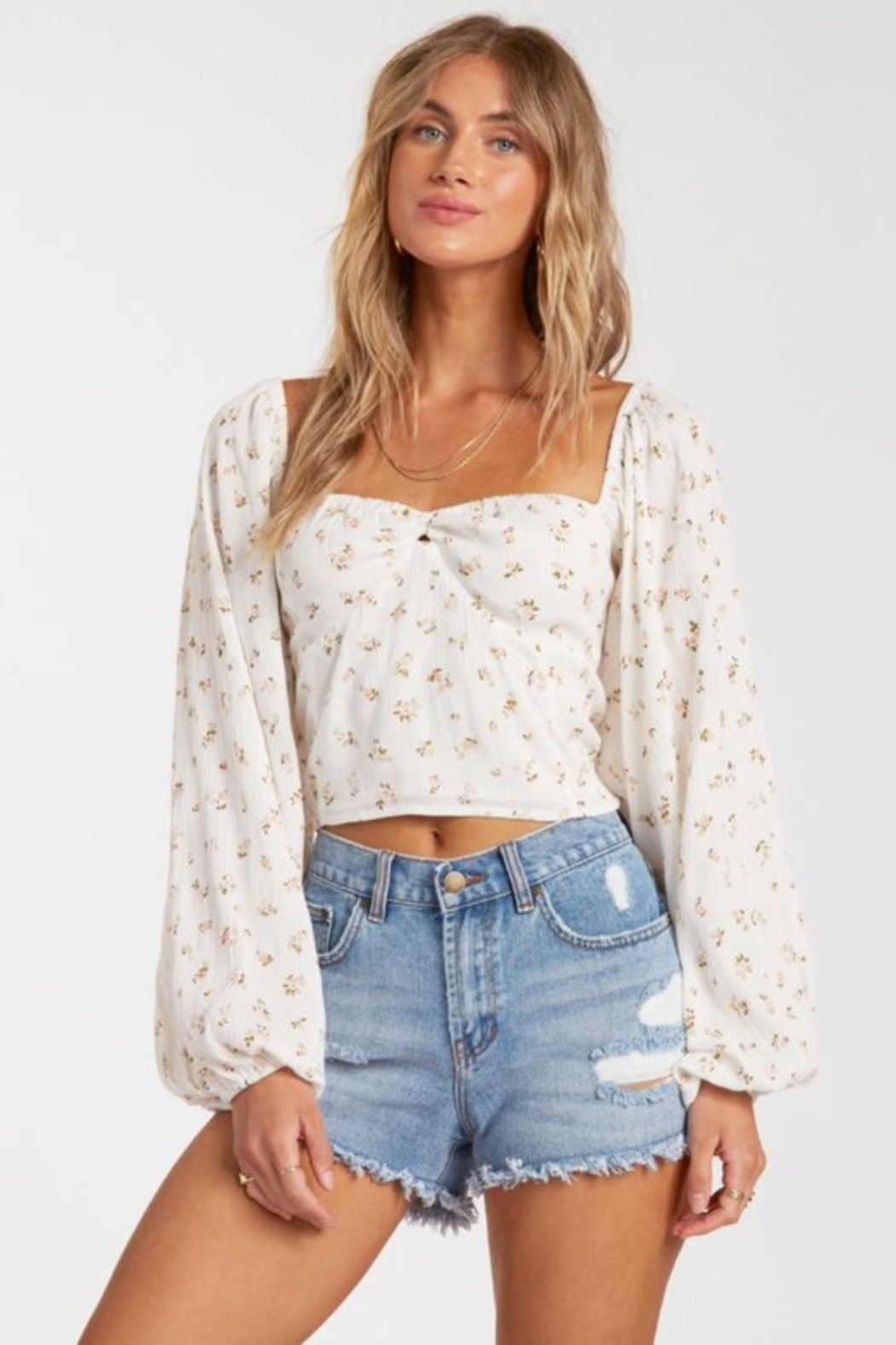 Billabong  Love Somebody Top - Front Cropped Image
