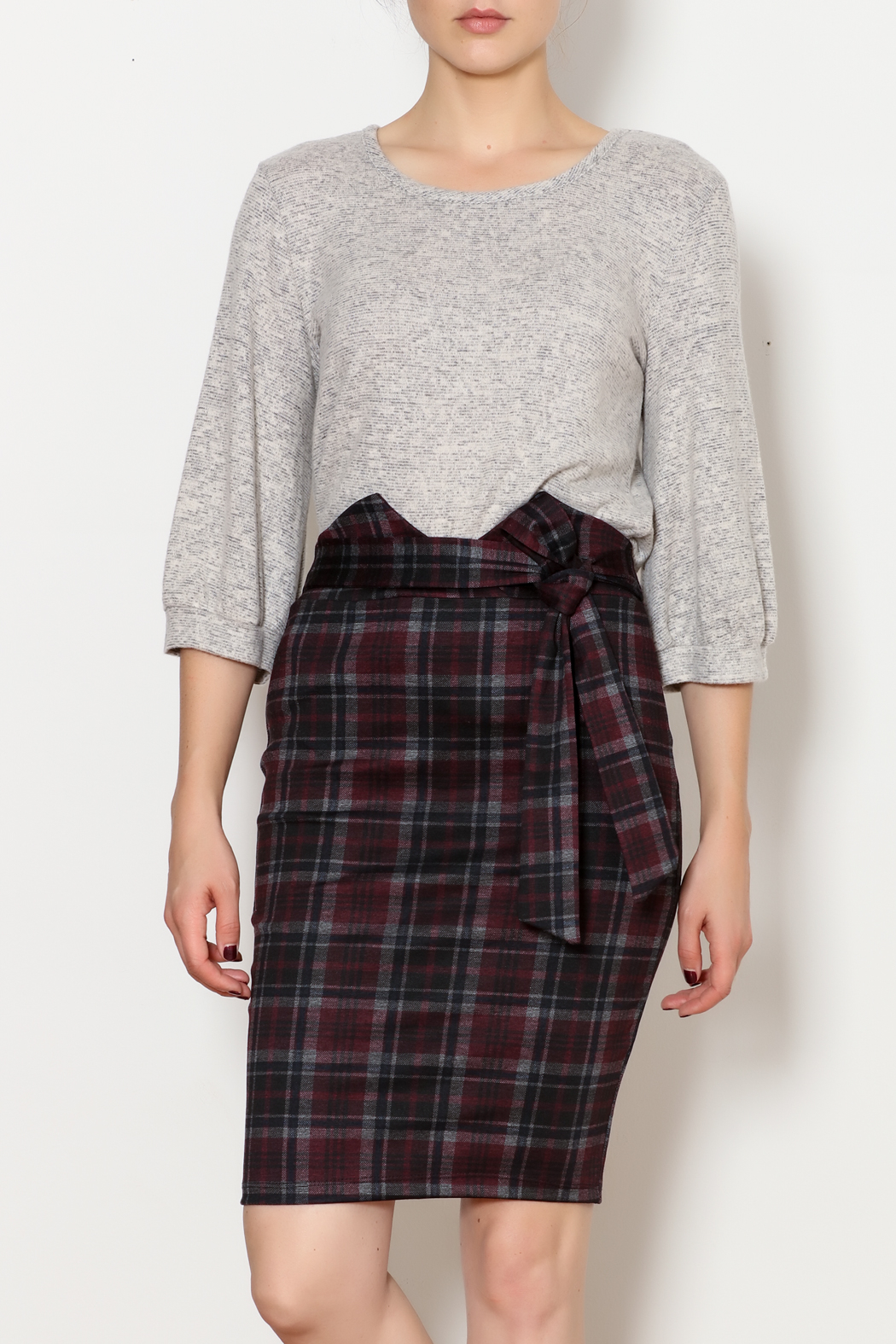 9841e3d46 Love Song Plaid Skirt from New York by Dor L'Dor — Shoptiques