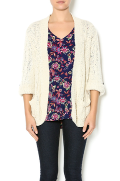 Shoptiques Product: Cream Knit Cardigan