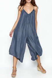 Love Stitch Denim Jumpsuit - Product Mini Image