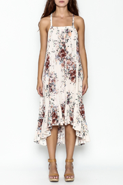 Love Stitch Floral Racerback Dress - Front full body