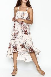Love Stitch Floral Racerback Dress - Front cropped