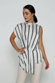 Love Striped Blouse - Product Mini Image