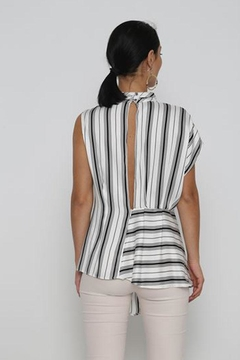 Love Striped Blouse - Alternate List Image
