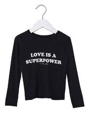 SPIRITUAL GANGSTER Love Superpower Tee - Product Mini Image