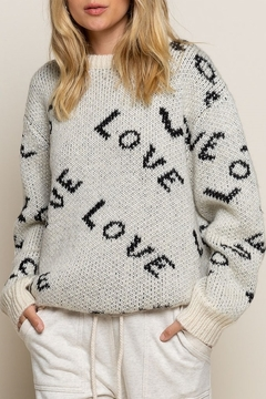 Shoptiques Product: LOVE Sweater
