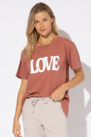 Urban Riot Love Tee - Front cropped