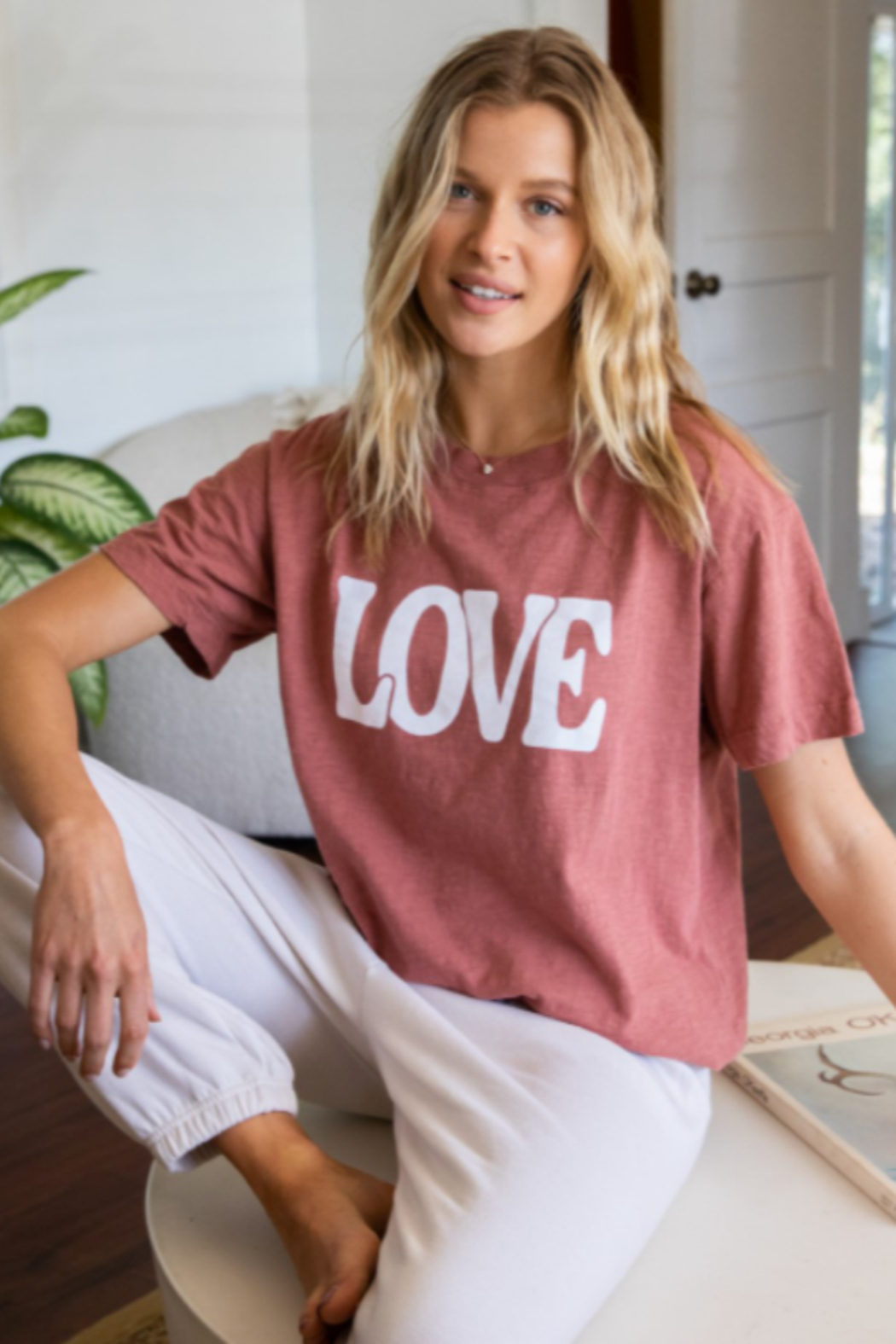 Urban Riot Love Tee - Front Full Image