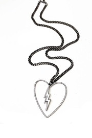Lovely Lisa Love-The-Bolt Necklace - Front cropped