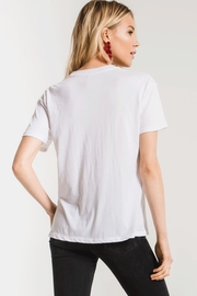z supply Love the Wine You're With Tee - Front full body