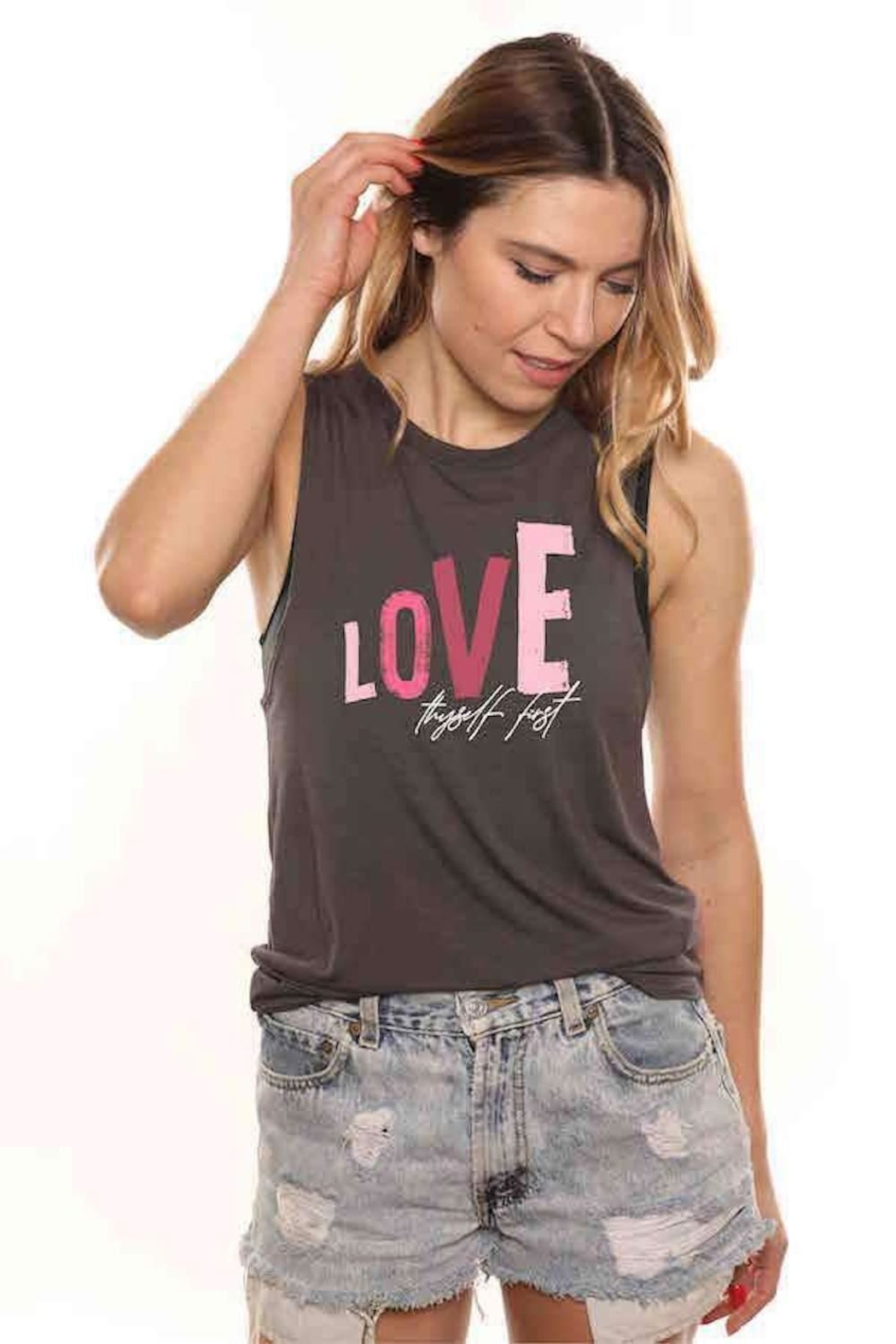 House of Tens  Love Thyself Tank - Main Image