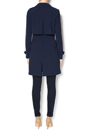Love Tree Dressy Trench Coat - Side cropped