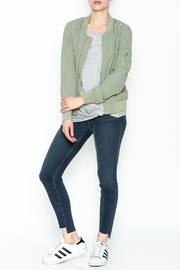 Love Tree Lightweight Olive Jacket - Side cropped