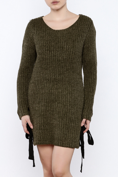 Shoptiques Product: Olive Sweater Dress