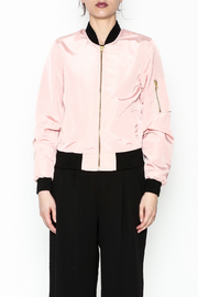 Love Tree Pink Ladies Jacket - Front full body