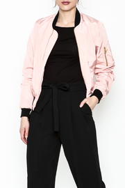Love Tree Pink Ladies Jacket - Front cropped