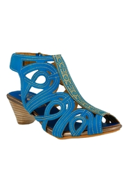 Spring Footwear Love Turquoise Heels - Product Mini Image